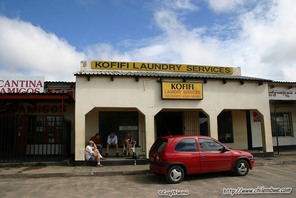 Laundry at kofifi, waiting for the clothes to dry.