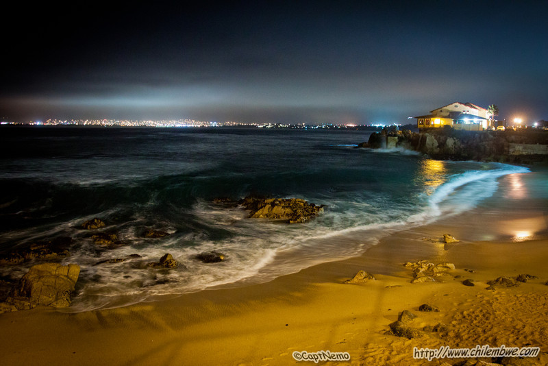 Monterey at night
