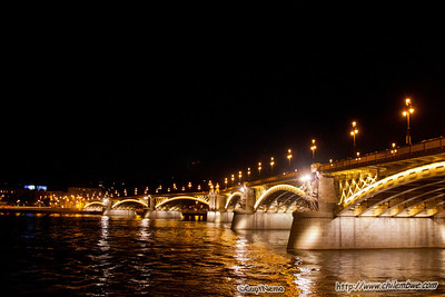 Margarit bridge at night