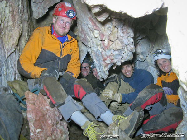 Happy cavers